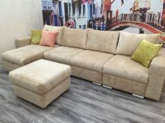 Мебель в Алматы для маленьких комнат. Угловой диван.