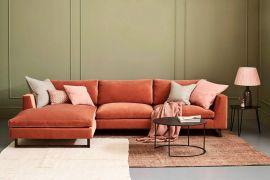Терракотовый цвет в дизайне мебели